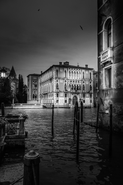 Venetian Palazzo At Canal Grande