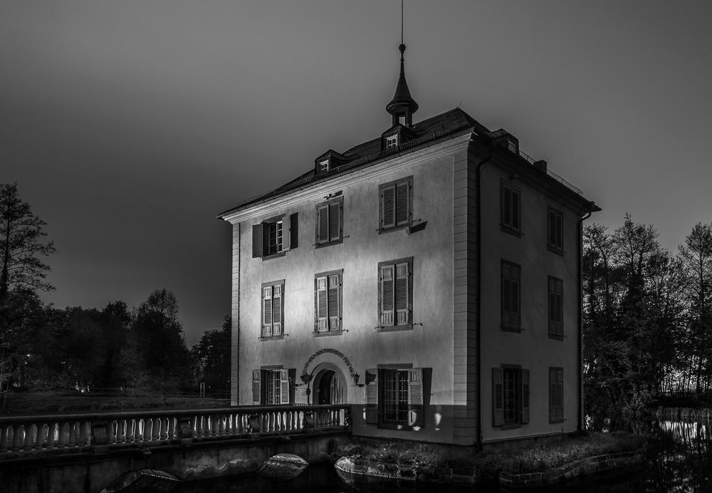 Trappenseeschlösschen - Heilbronn bei Nacht