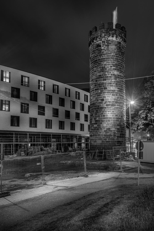 Bollwerksturm - Heilbronn bei Nacht