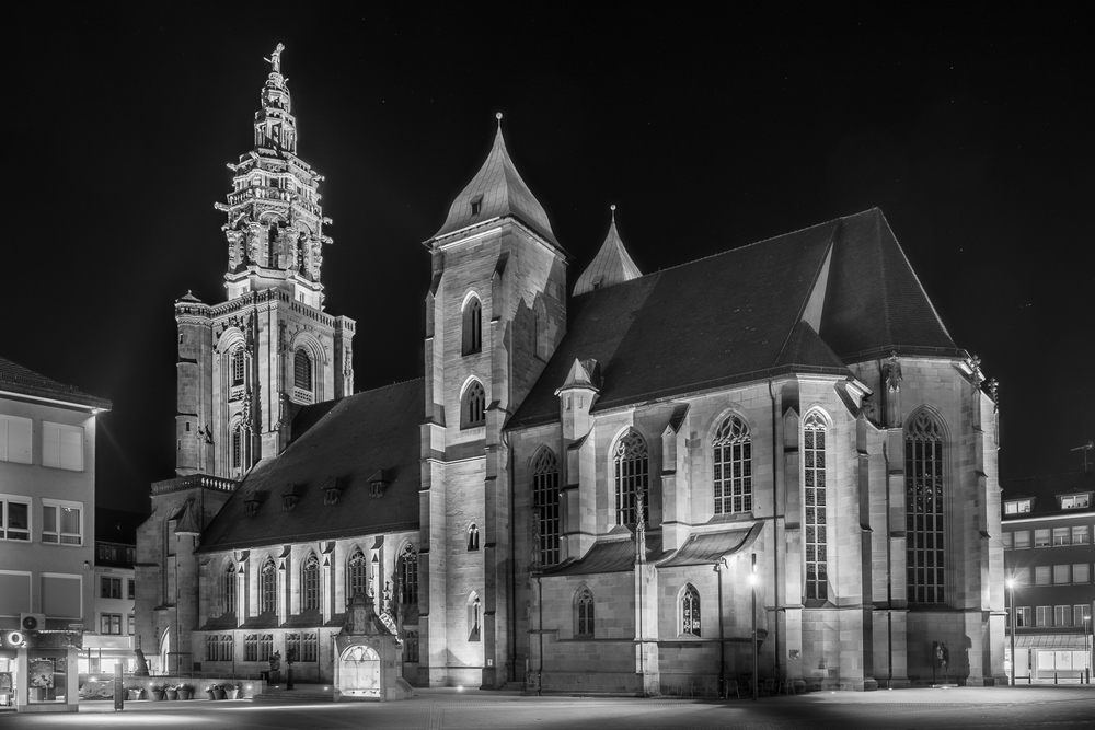 Kilianskirche - Heilbronn bei Nacht