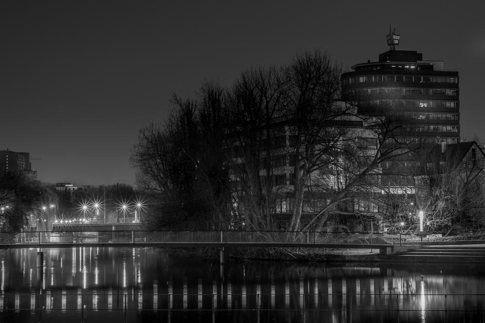 Heilbronn bei Nacht
