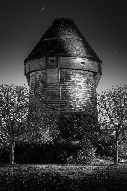 Theresienturm - General-Wever-Turm - Heilbronn bei Nacht
