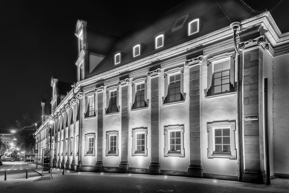 Deutschhof - Heilbronn bei Nacht