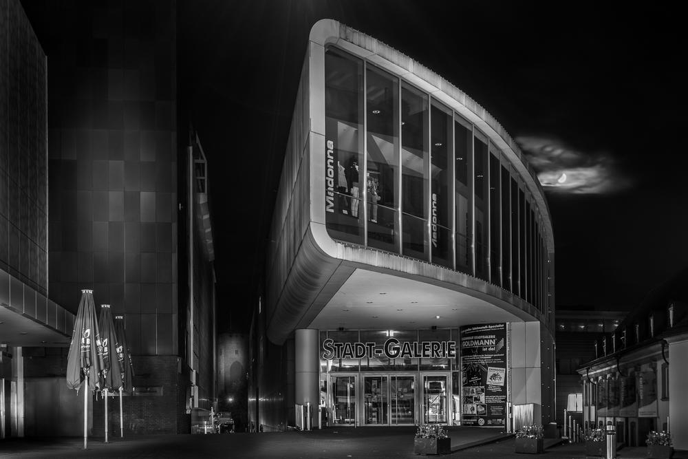 Stadt-Galerie - Heilbronn bei Nacht