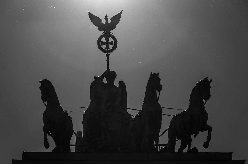 Die Quadriga auf dem Brandenburger Tor Berlin