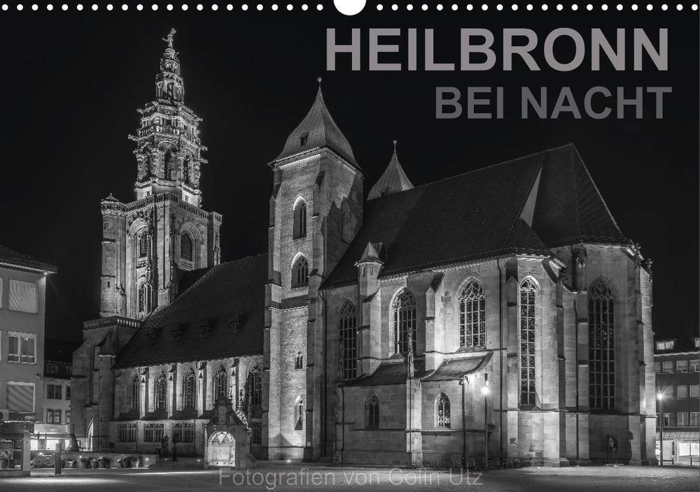 Posterbuch HEILBRONN BEI NACHT Kilianskirche