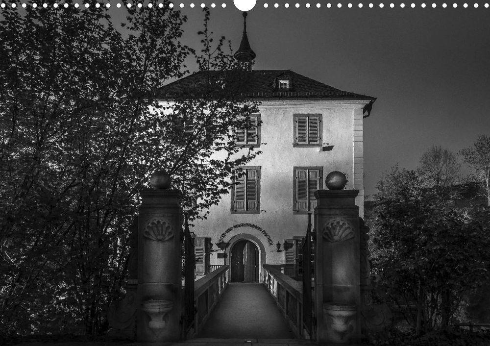 Posterbuch HEILBRONN BEI NACHT Trappenseeschlösschen