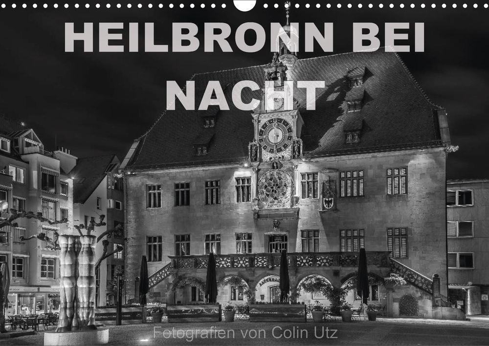 """Coverbild Kalender """"Heilbronn bei Nacht"""" von Colin Utz"""