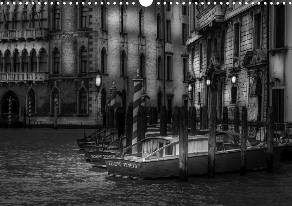 Poster Book Venice - Light and Shadow