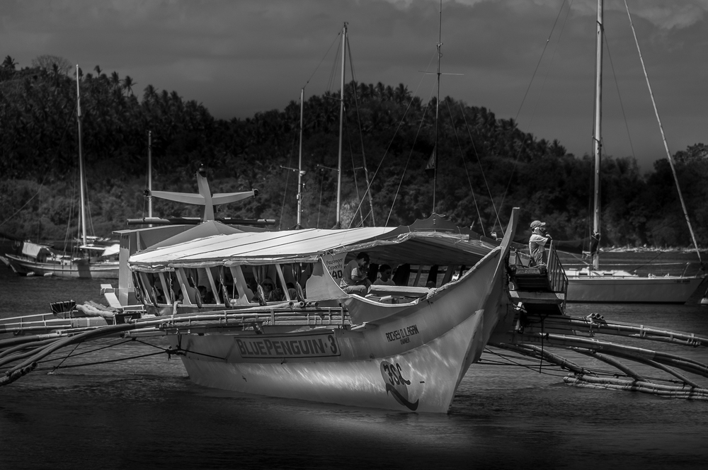 Banka in Puerto Galera - Philippinen - Philippines