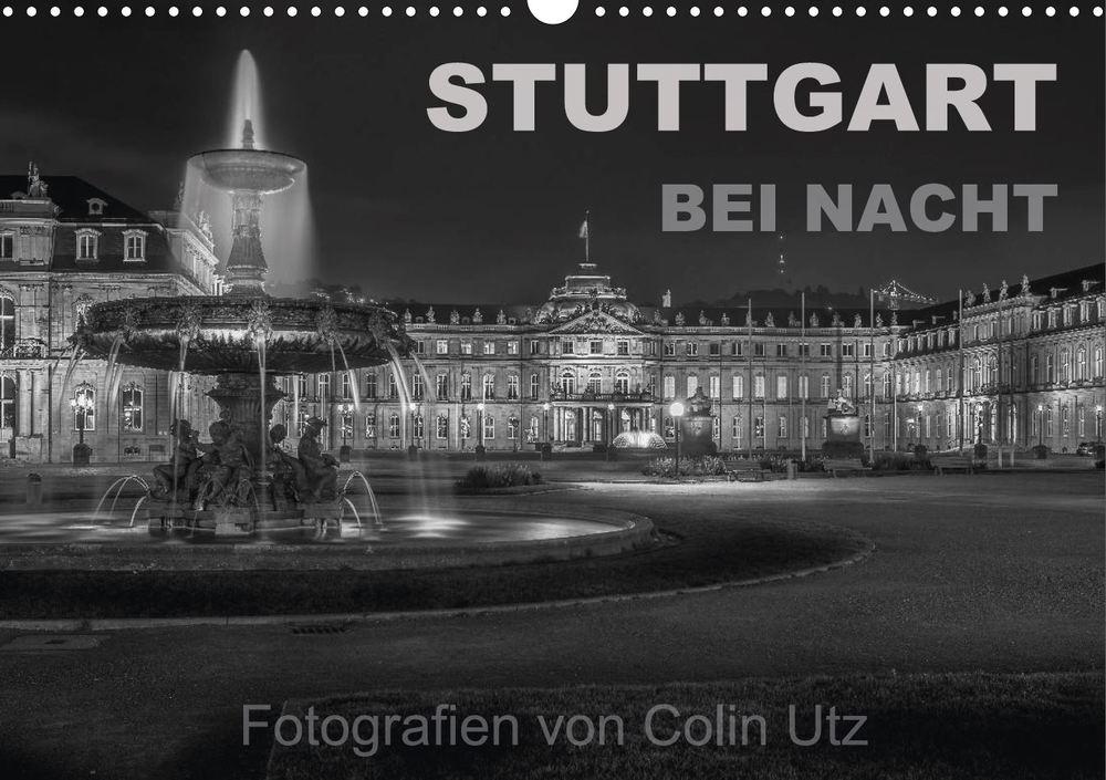 """Titelseite Kalender """"Stuttgart bei Nacht"""""""