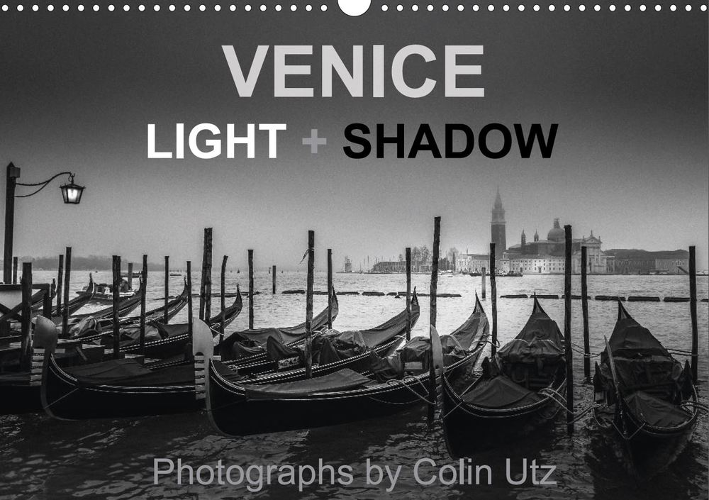 "Coverpicture of my calender ""Venice - Light and Shadow"""