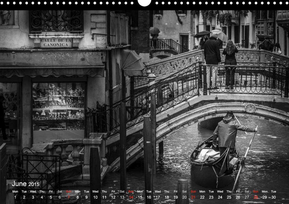 Kalender 2015 Venedig - Calendar 2015 Venice