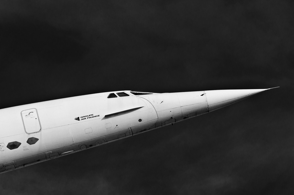 Supersonic airliner Aérospatiale-BAC Concorde, Air France - Auto & Technik Museum Sinsheim South Germany