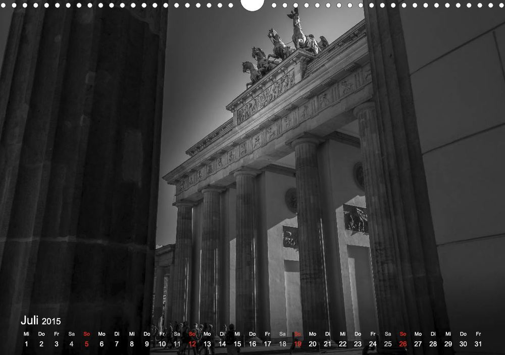 Brandenburger Tor Berlin - Brandenburg Gate Berlin