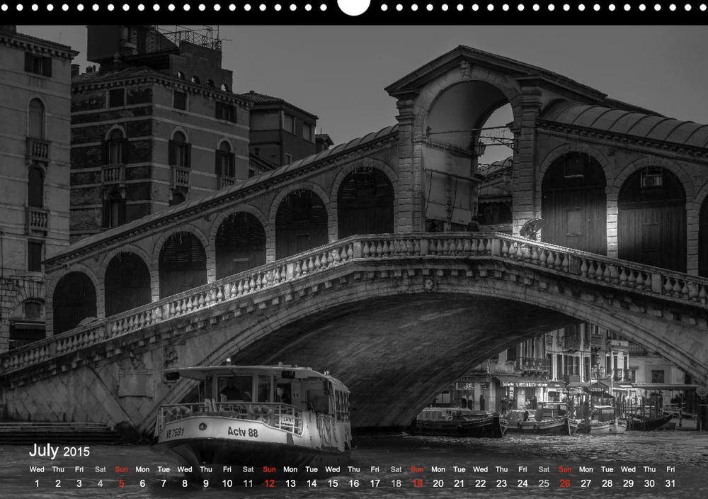 Rialto Bridge, Venice, Italy - Rialto Brücke, Venedig, Italien