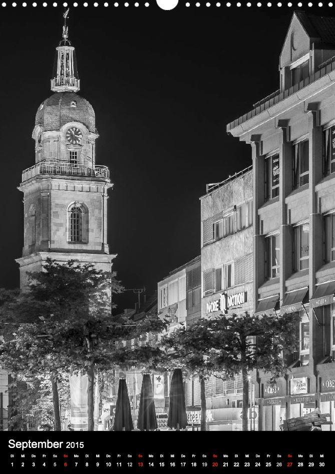 """Hafenmarktturm aus """"Heilbronn bei Nacht 2"""""""