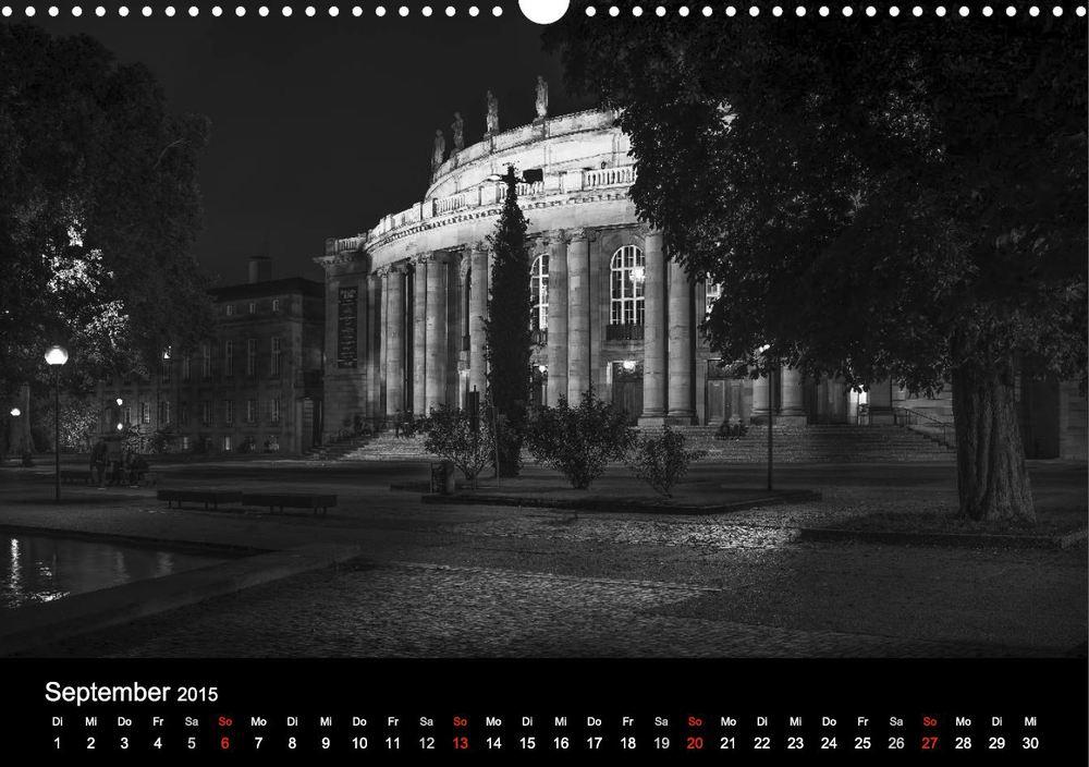 """Opernhaus aus """"Stuttgart bei Nacht"""""""