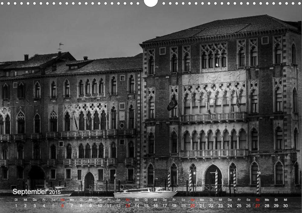 """Palazzi am Canal Grande aus """"Venedig - Licht und Schatten"""""""