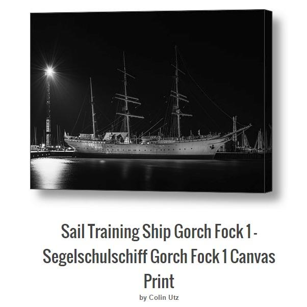Segelschulschiff Gorch Fock 1, Stralsund