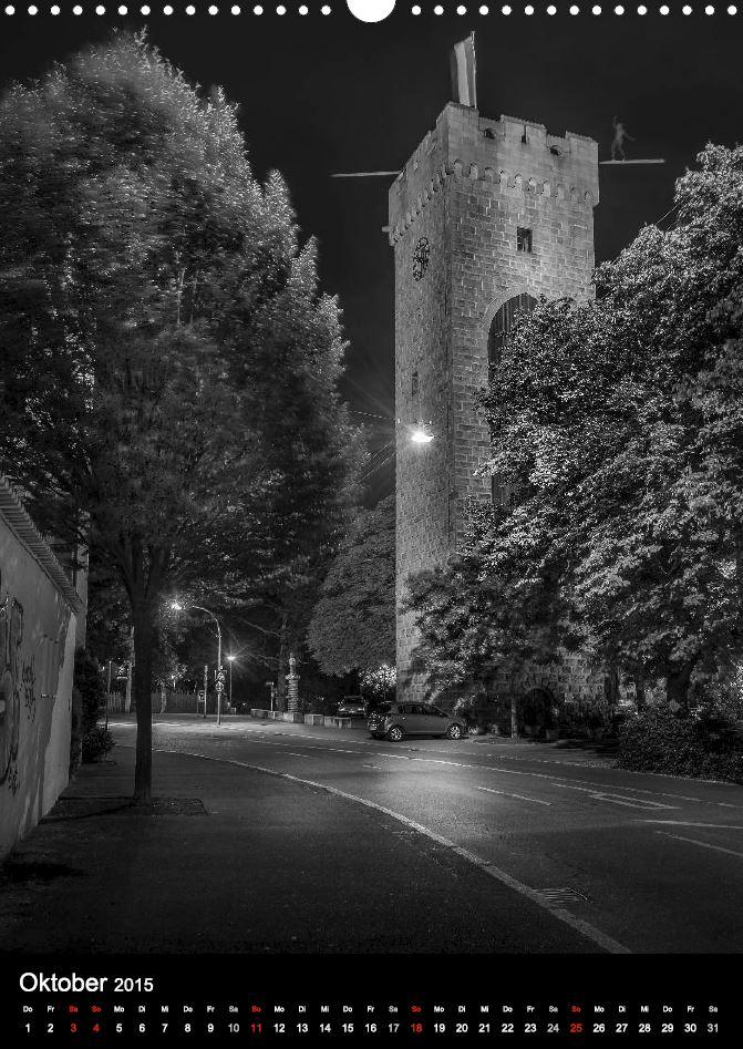 """Kalender """"Heilbronn bei Nacht 2"""" - Götzenturm Heilbronn"""