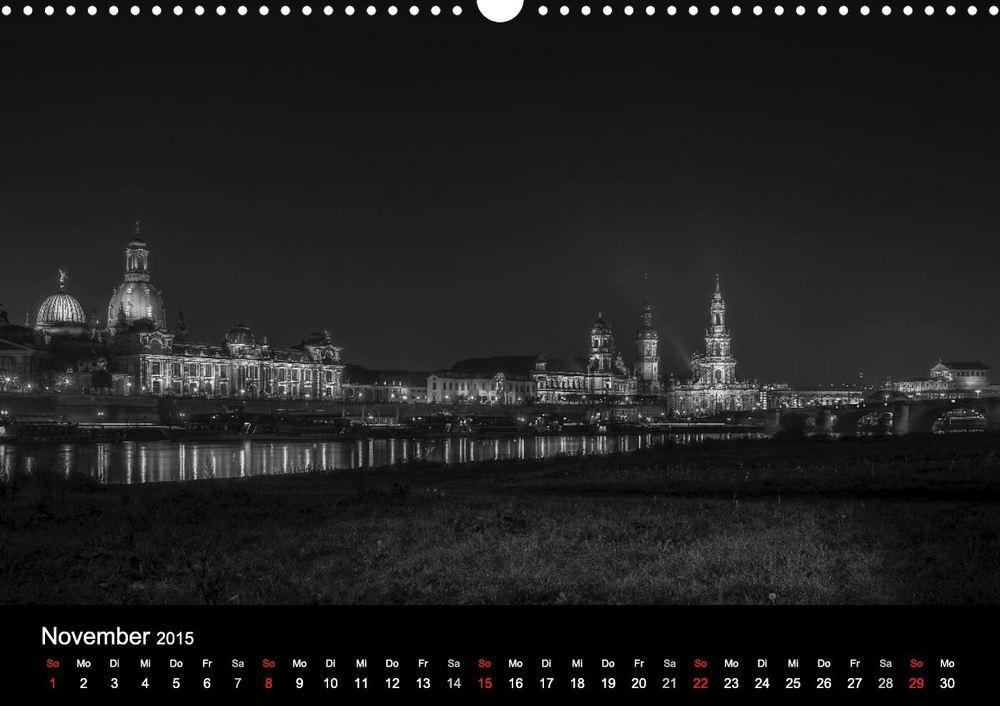 """Dresden bei Nacht - Aus meinem Kalender """"Dresden bei Nacht"""""""