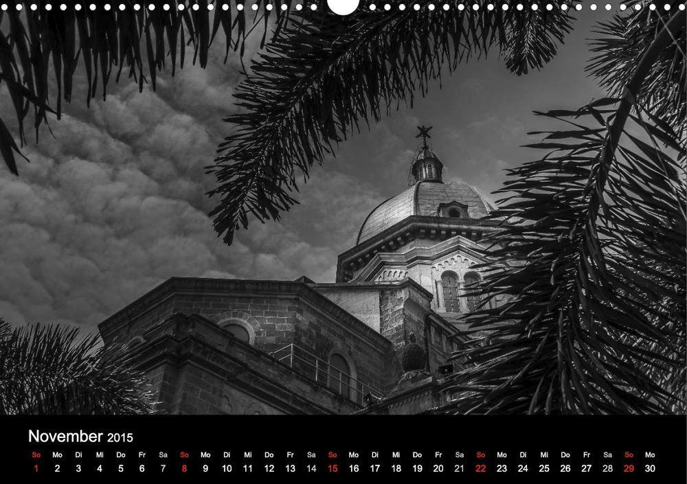 """Kathedrale von Manila - Aus meinem Kalender """"Philippinen - Licht und Schatten"""""""