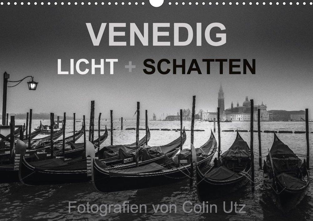 Kalender 2017 - Venedig Licht + Schatten
