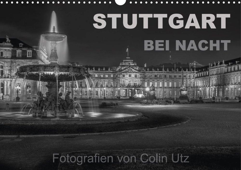 Kalender 2017 - Stuttgart bei Nacht