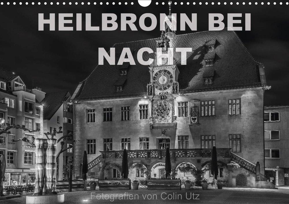 Kalender 2017 - Heilbronn bei Nacht