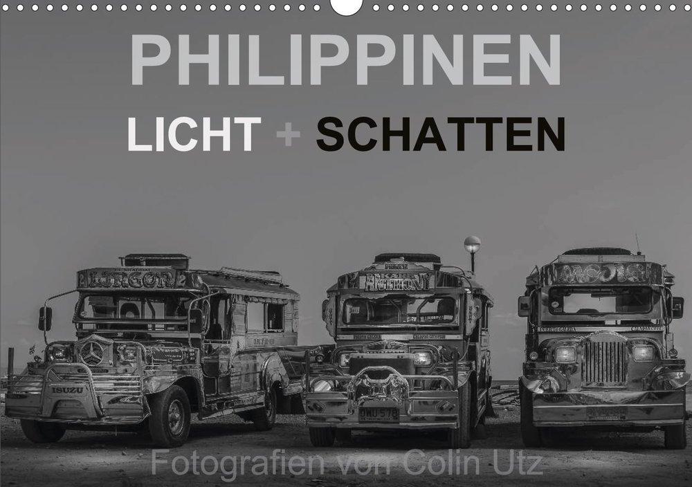 Kalender 2017 - Philippinen Licht + Schatten