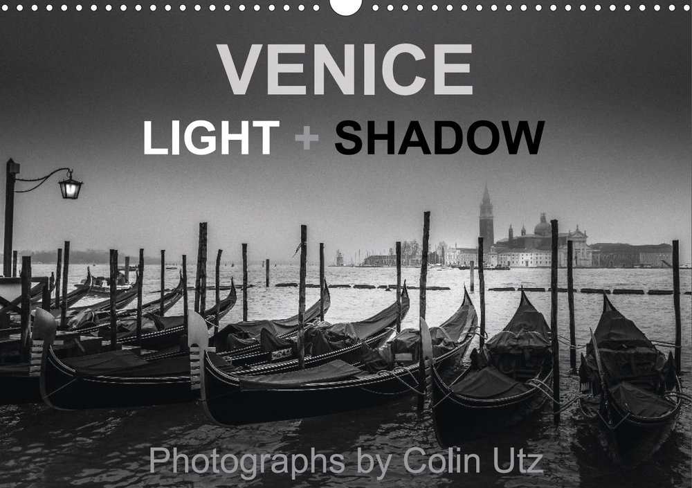 Calendar 2017 - Venice Light + Shadow