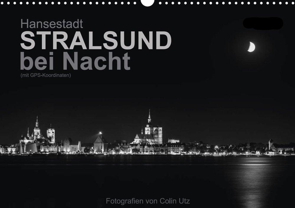 Kalender 2017 - Stralsund bei Nacht