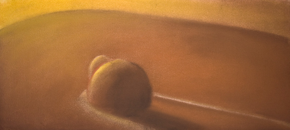Journey Series 3 • 10 x 22 • Soft pastel • 200
