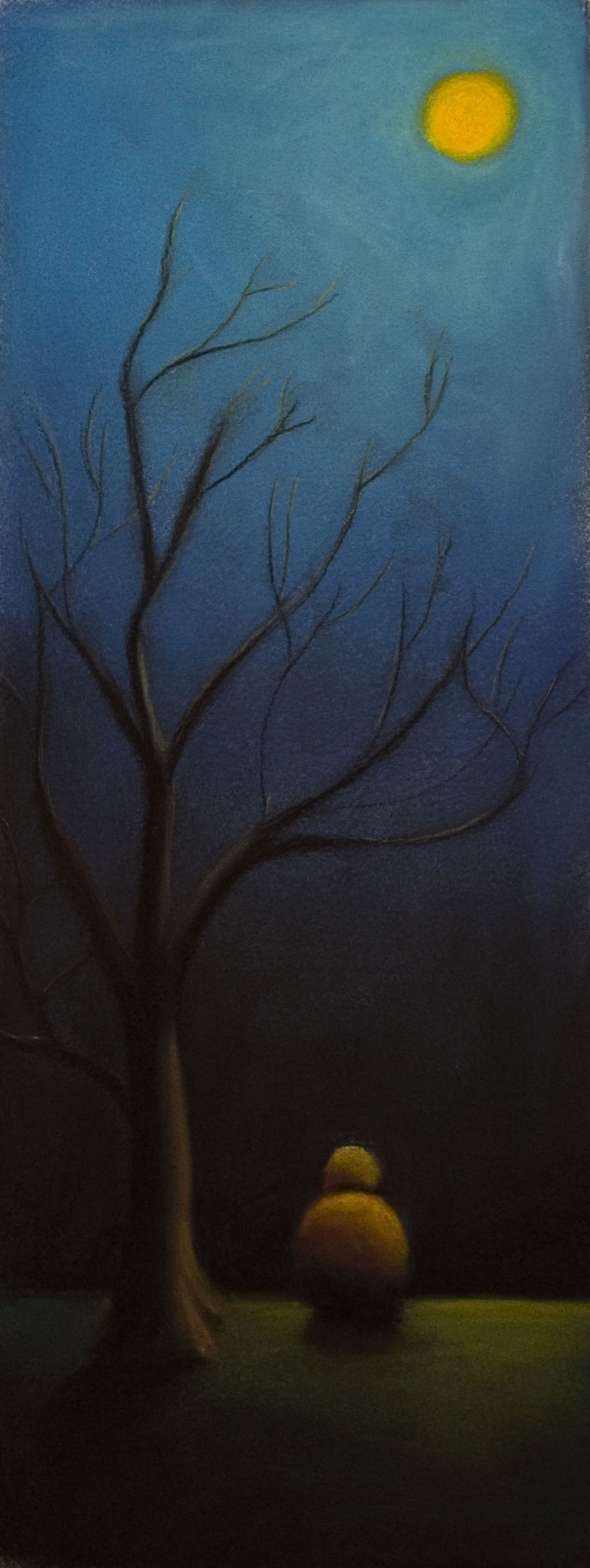 Reach the Sky • 26 x 14 • Soft pastel on paper • 300