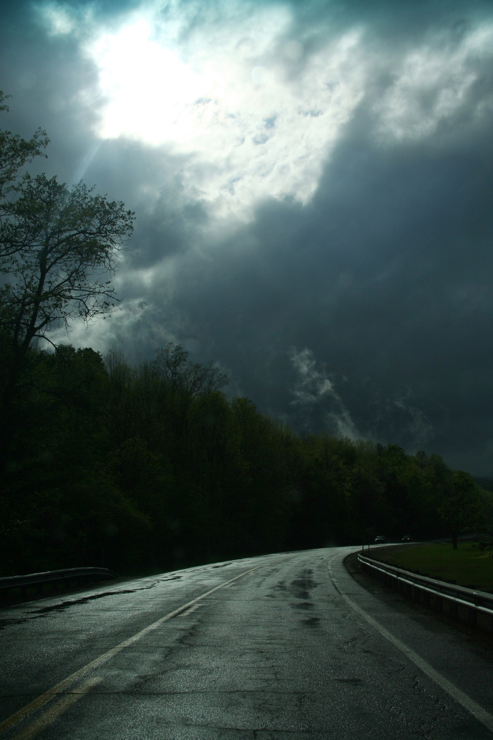Road in Storm