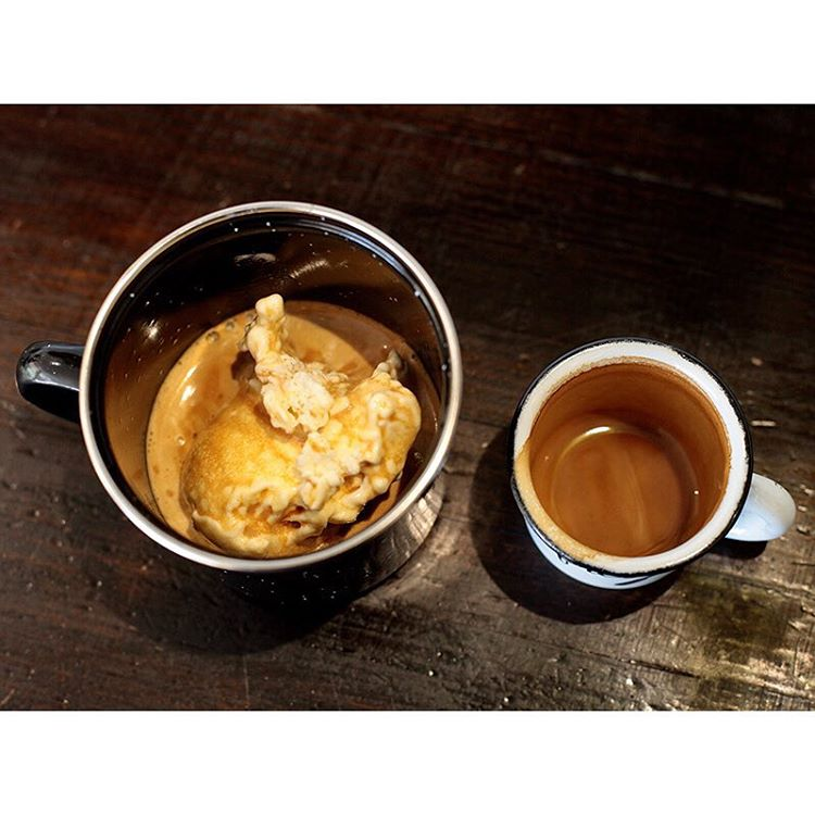 See out Friday arvo with one of our smooth Affogato's! Two scoops of creamy vanilla ice cream with a double shot of our super smooth Sunny Boy Original, roasted on site daily.     Open until 5pm. Lomandra Drive, Currimundi.  (at Sunshine Sunshine Espresso)