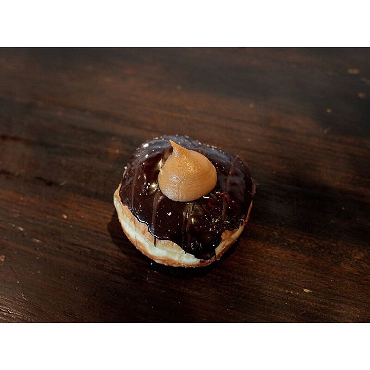 Chocolate Salted caramel donuts are in store.     Open until 2pm. Lomandra Drive, Currimundi (at Sunshine Sunshine Espresso)