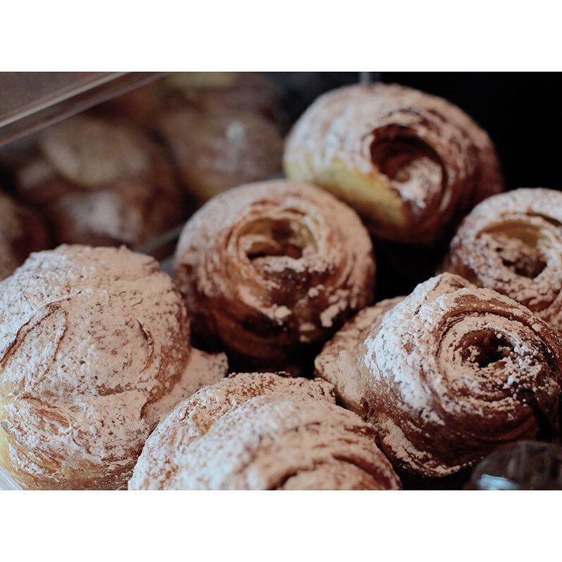 Oven fresh Salted Caramel Cruffins are in! Lomandra Drive, Currimundi.