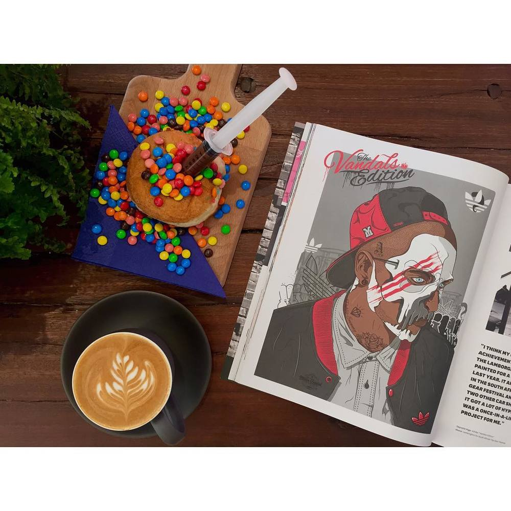 Friday afternoons are like… Enjoying a cup of our smooth Sunny Boy Original, eating an injectable, while listening to the Lucksmiths, and reading the latest issue of No Cure Magazine.     We are open until 5pm. Come hang out. Lomandra Drive, Currimundi.