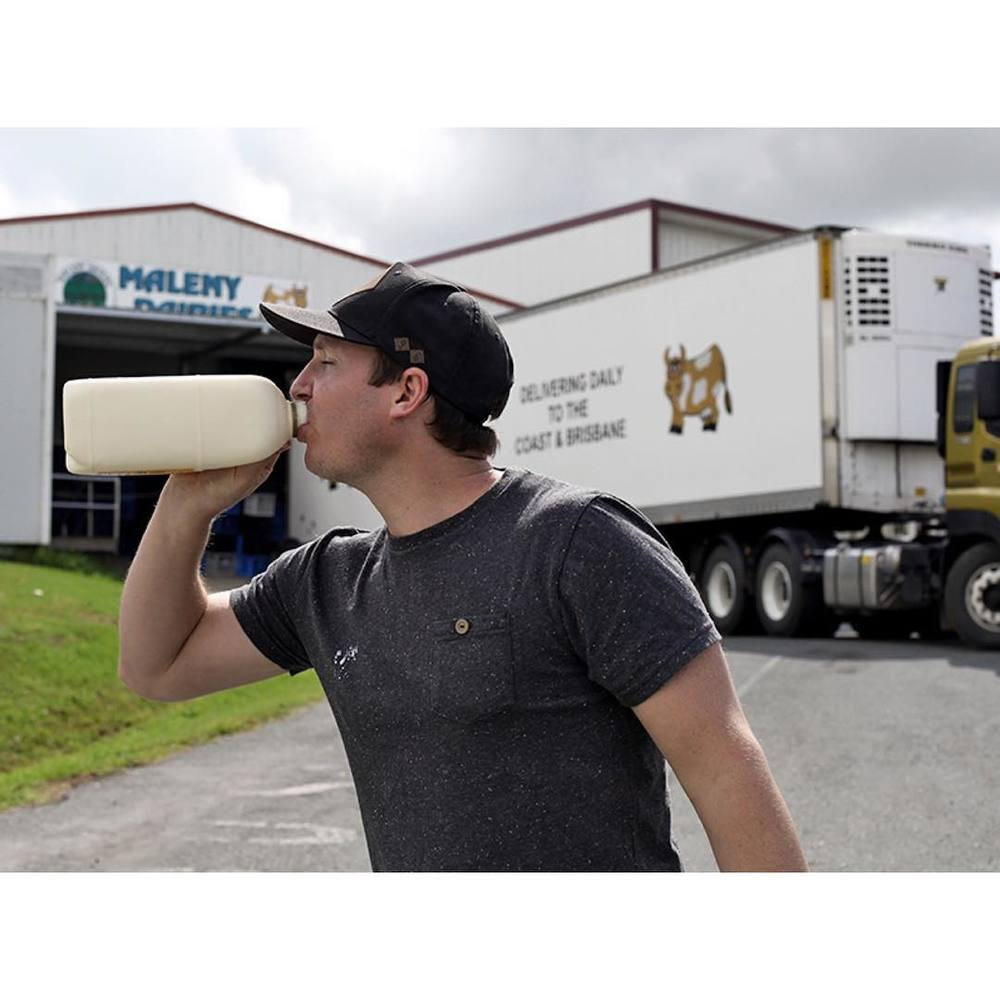We use @malenydairies milk with our coffees because it's easily the creamiest around. These guys are continually doing great things for the dairy industry and dairy farmers in Queensland and we're proud to support local business achieving positive change.
