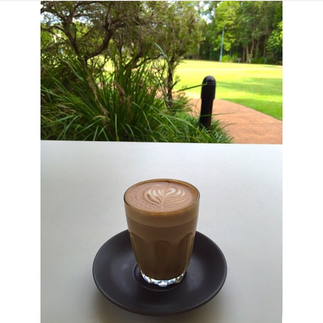The view this afternoon. Don't forget we are now open until 5pm weekdays. Drop by for your arvo coffee fix and enjoy Neighbourhood Park.