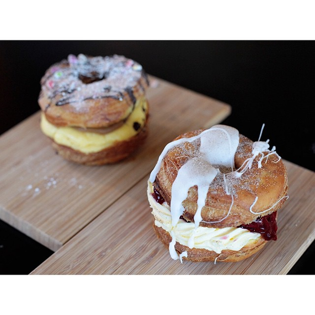 Have you preordered your cronuts for tomorrow? Choose from Caramel Custard, or Sour Cherry Cheesecake. Simply Private Message us with your name, flavours and quantity to reserve. Open 7-2 Saturday.