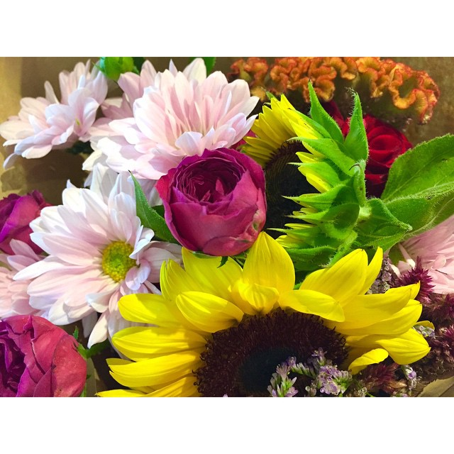 Fresh local flowers from Heavenly Blooms are in! Brighten up your home for Easter. We only have 2 bunches left so drop by soon to pick one up.