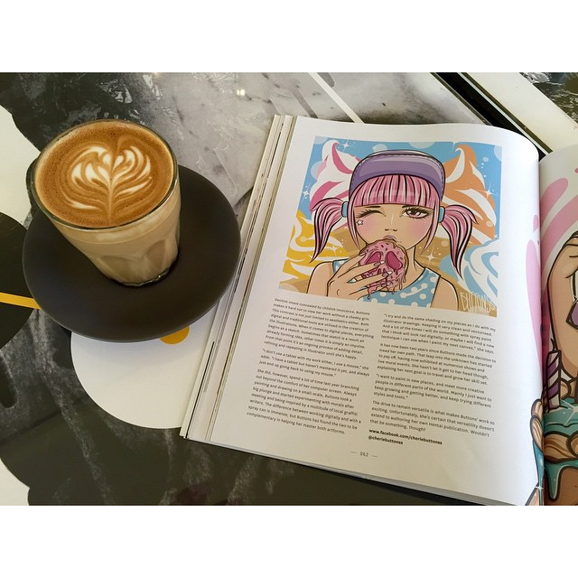 Rainy afternoons deserve a smooth coffee. Sunny Boy Original and the latest issue of No Cure Magazine. Open until 2pm