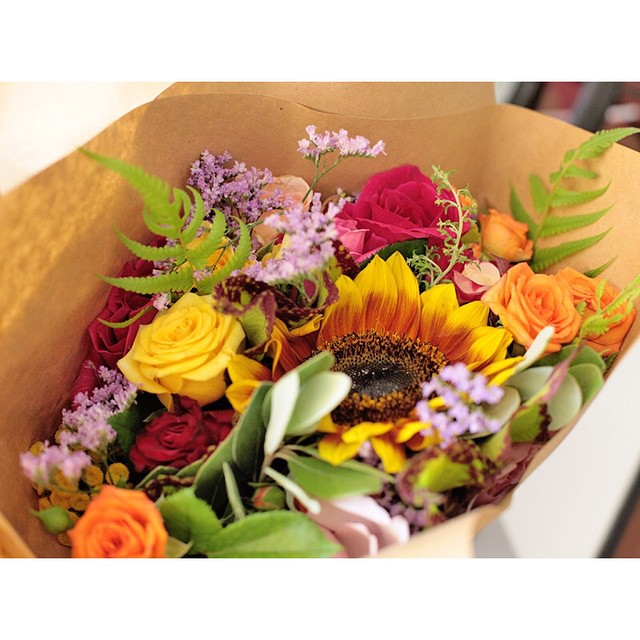 We have a few bunches of fresh look cal flowers available.     Brighten up your home or surprise a loved one! Drop by before 2pm to buy a bunch.