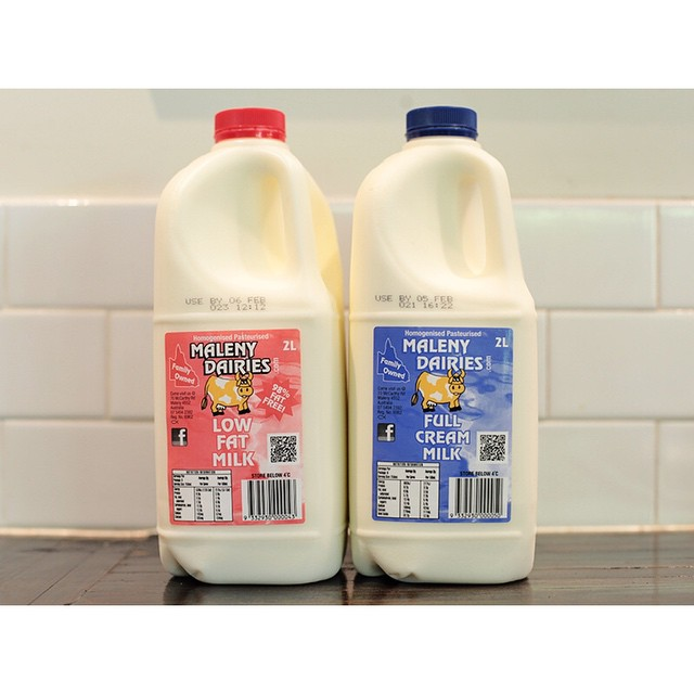 We are proud to support local business, that's why we use the creamiest milk around Maleny Dairies in our coffee.