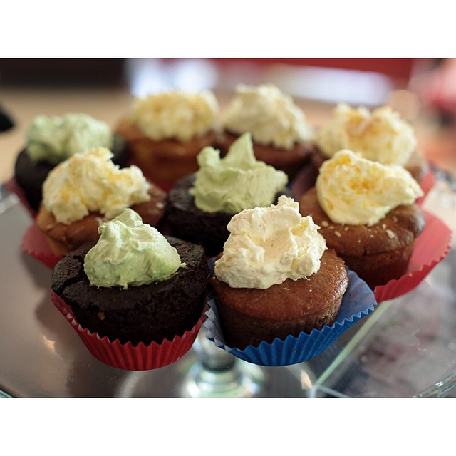 Delicious gluten free and dairy free cupcakes are in. Available in a range of flavours including piña colada, strawberry and cream, and choc peppermint. Open til 2.