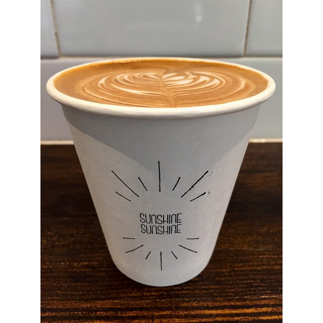 Sunny Boy Original is back in the grinder for the rest of the morning. Drop by for your Sunday coffee and treat fix. Open til 12 noon.