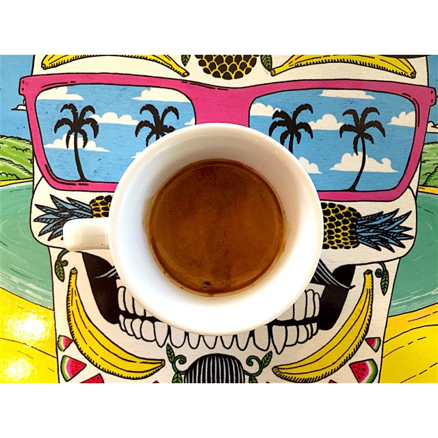 Ahhh Summer days! We are grinding 1kg of our single origin Ethiopian Djimmah bean, Long Distance, first off this morning. Unwashed and un-uniform, it has a rich strong start and rounds out with smooth chocolate, smokey flavours. Open til 12 noon.